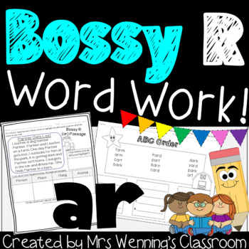 Bossy R, R-Controlled Vowel ar! A Complete Week of Lesson