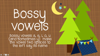 Bossy Vowels: Sight Words Categorized by Sounds with Audio