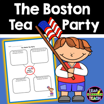 Boston Tea Party Graphic Organizer- FREE!