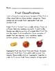 Botany: Fruit Classifications