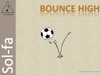 Bounce High (msl) - Sol-fa Pack