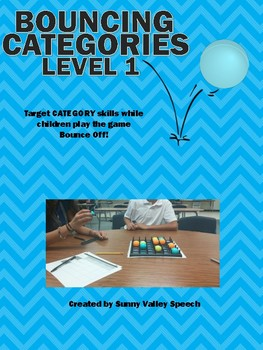 Bouncing Categories Level 1 and 2