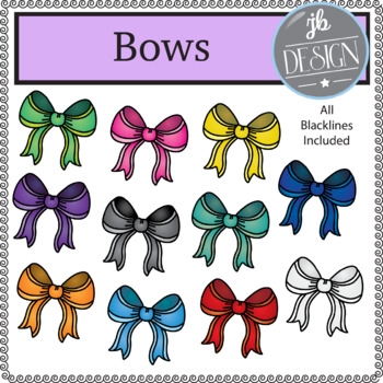 Bow (JB Design Clip Art for Personal or Commercial Use)