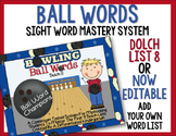 Ball Words Sight Word Mastery System-Bowling Ball Words Do