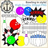 Bowling Clipart {Anchor Art Man}
