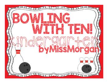Bowling Math Worksheet KINDERGARTEN