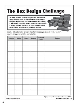 Box Design Challenge