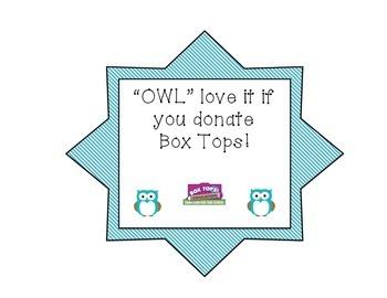 Box Tops Sign