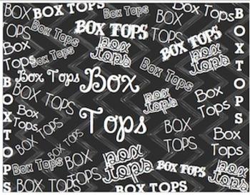 Box Tops [ freebie ]