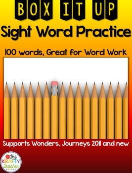 No Prep, Sight Word Practice Activity, Fun, Engaging