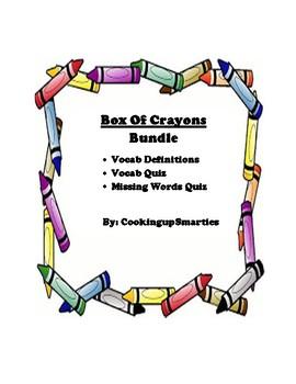 Box of Crayons Vocabulary Bundle