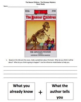 Boxcar Children Dinosaur Mystery Novel Study
