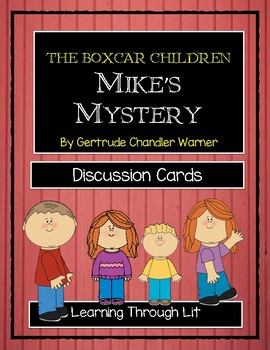 Boxcar Children MIKE'S MYSTERY - Discussion Cards