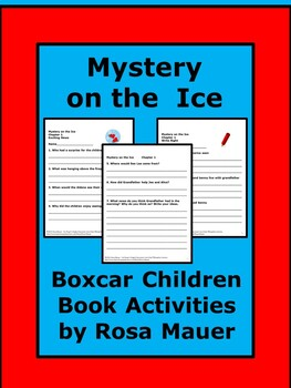 Boxcar Children Mystery on the Ice Literacy Unit