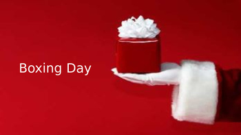Boxing Day - Power Point Full History Facts Information Pi