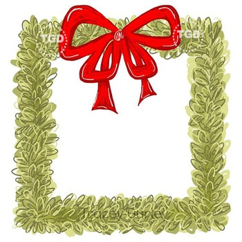 Boxwood Wreath Square with and without red bow Tracey Gurl