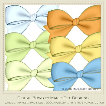 Boy Birthday Colors Digital Bow Graphics package 2