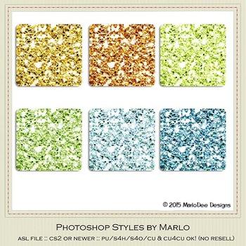 Boy Birthday Colors Glitter Photoshop Style