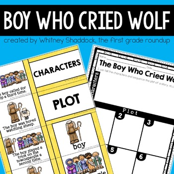 The Boy Who Cried Wolf Companion Packet