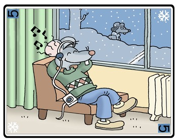 Boymouse Meets Girlmouse - Winter - Story Cards