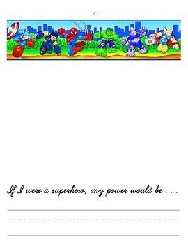 Boy's Art Journal