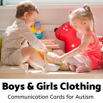 Boys & Girls Clothing Cards