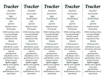 Tracker edition of Bookmarks Plus—A Very Handy Reading Aid!