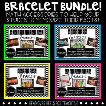 Bracelet Bundle! {Multiplication, Division, Addition, Subt