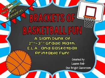 Brackets of Basketball Fun! {Themed Printables Aligned to