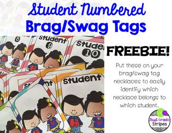 Brag/Swag Tags – Individual Student Tags