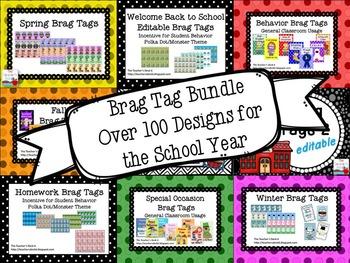 Brag Tags for Big Kids Growing Bundle
