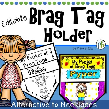 Brag Tag Holder - My Pocket of Brag Tags