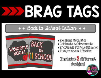 Brag Tags - Back to School Edition