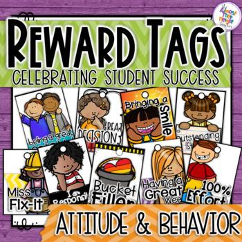 Brag Tags - Attitude & Behavior - Classroom Management - R