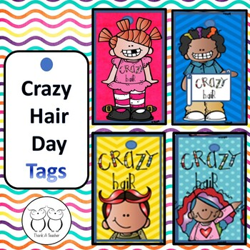 Brag Tags : Crazy Hair Day