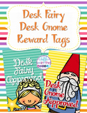 Brag Tags - Desk Fairy and Desk Gnome