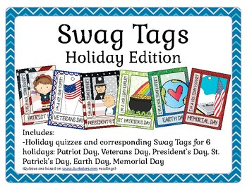 Brag Tags - Holidays