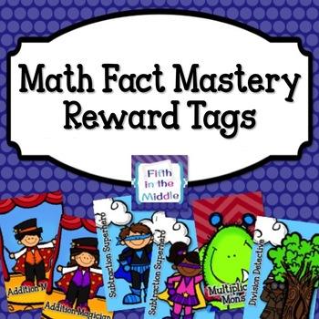 Brag Tags - Math Mastery