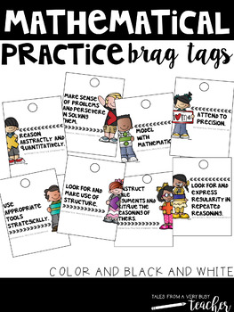 Brag Tags {Mathematical Practices}