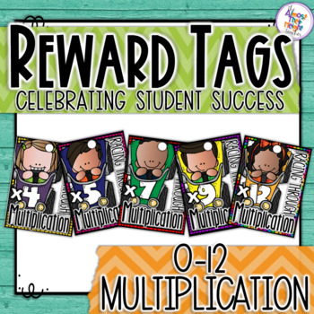 Brag Tags - Maths - Multiplication - Racing Through Multip