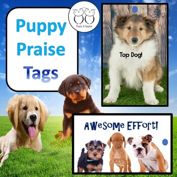 Brag Tags : Puppy Praise for Students