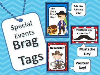 Brag Tags : Special Events  Talk Like A Pirate  Western Da