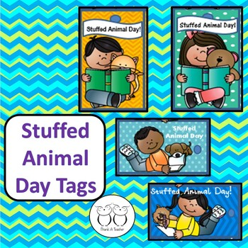 Brag Tags : Stuffed Animal Day