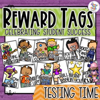 Brag Tags - Test Time Motivation Tags - great for gift tag