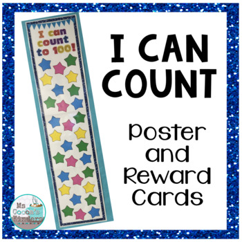 Brag Tags and Poster - I Can Count