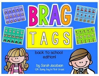 Brag Tags {back to school edition!}