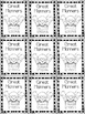 Brag Tags (black and white)