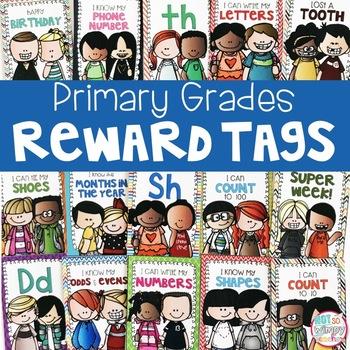 Brag Tags for PreK, Kindergarten and First Grade