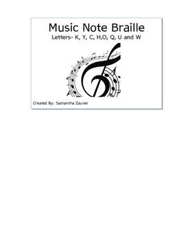 Braille File Folder Game