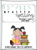 Braille Sight Words - Pre-Primer and Color Words